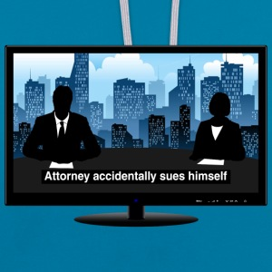 TV news - Attorney Hoodies & Sweatshirts - Contrast Colour Hoodie