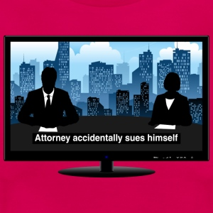 TV news - Attorney T-Shirts - Women's T-Shirt