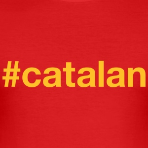CATALANIA - Men's Slim Fit T-Shirt