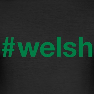 WALES T-Shirts - Men's Slim Fit T-Shirt