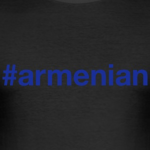 ARMENIA T-Shirts - Men's Slim Fit T-Shirt