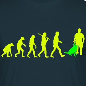 evolution_police_2 Tee shirts - T-shirt Homme