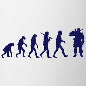 evolution soldat 1 - Tasse