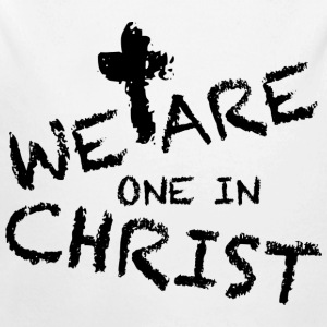 We Are One In Christ Baby Bodys - Baby Bio-Langarm-Body