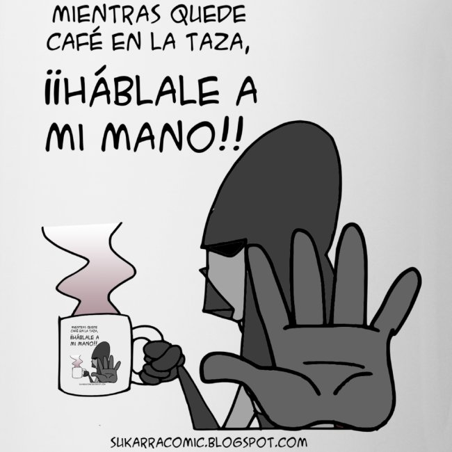 Taza Mano