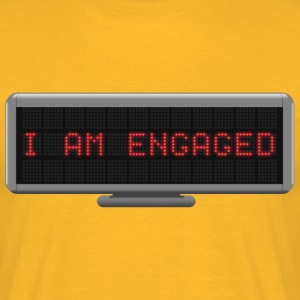 Status - Engaged T-Shirts - Men's T-Shirt