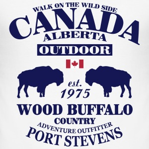 Buffalo - Canada T-Shirts - Männer Slim Fit T-Shirt