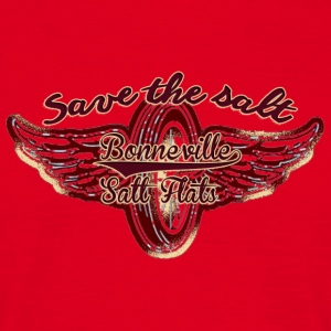 Bonneville: Save the salt - Männer T-Shirt