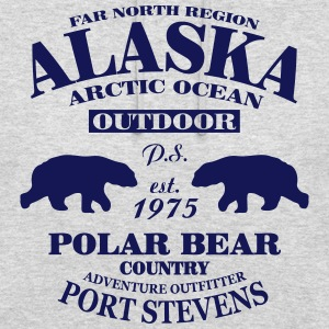 Alaska - Polar Bear Country Pullover & Hoodies - Unisex Hoodie