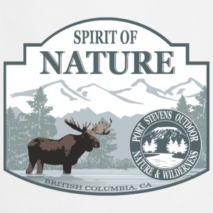 Spirit of Nature - British Columbia  moose Schürzen - Kochschürze