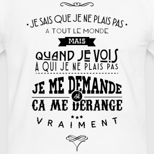 Citations made in Belgique Tee shirts - T-shirt contraste Homme
