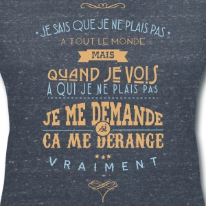 Citations made in Belgique Tee shirts - T-shirt col V Femme