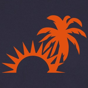 Palm trees sun 1409 Hoodies & Sweatshirts - Men's Sweatshirt