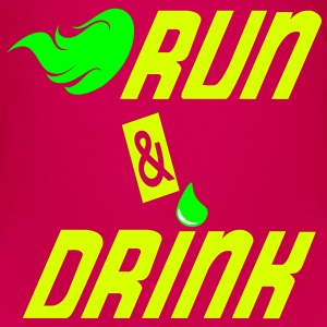 Run and drink T-shirts - Premium-T-shirt barn