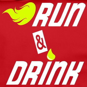 Run and drink Tassen & rugzakken - Schoudertas