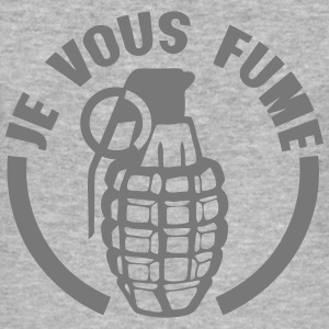 je vous fume grenade insulte Tee shirts - Tee shirt près du corps Homme