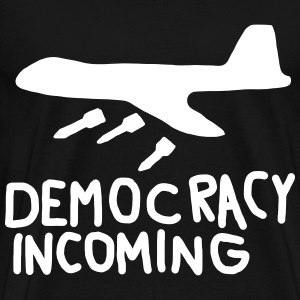 Democracy Incoming T-shirts - Premium-T-shirt herr