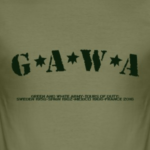 G*A*W*A T-Shirts - Men's Slim Fit T-Shirt