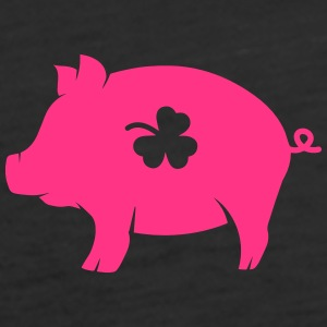 little pig with shamrock Tops - Women's Premium Tank Top