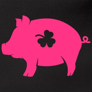 little pig with shamrock Bags & Backpacks - Bum bag