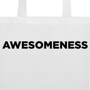 Awesomeness Bags & Backpacks - Tote Bag