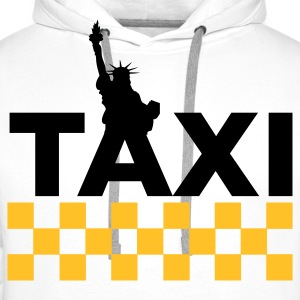 New York Taxi Sweat-shirts - Sweat-shirt à capuche Premium pour hommes