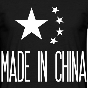 Made in China T-shirts - Mannen T-shirt