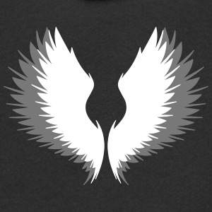Wings with shadow Hoodies - Kids' Premium Zip Hoodie