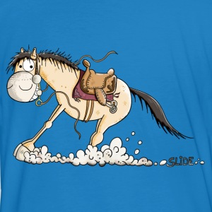 Funny Slide Horse Tee shirts - T-shirt bio Homme