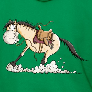 Western horse make sliding stop Hoodies & Sweatshirts - Men's Premium Hoodie