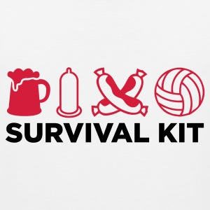 Survival Kit for menn Singlets - Premium singlet for menn