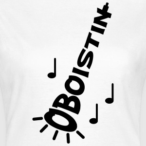 Oboe Blasinstrument T-Shirts - Frauen T-Shirt