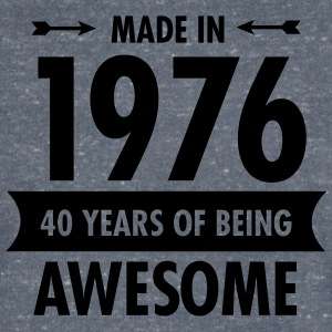Made in 1976 - 40 Years Of Being Awesome T-shirts - Mannen T-shirt met V-hals