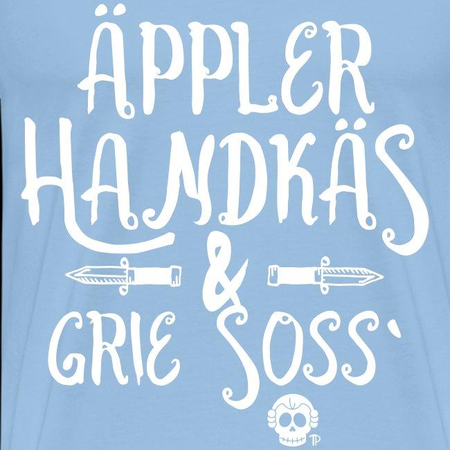 Äppler Handkäs und Grie Soss BLACK