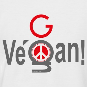 GoVegan 01 Tee shirts - T-shirt baseball manches courtes Homme