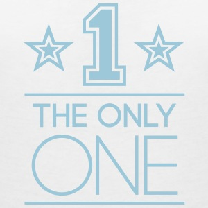 The Only One T-Shirts - Frauen T-Shirt mit V-Ausschnitt