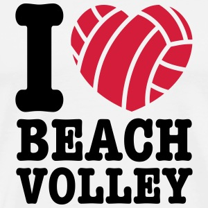 beach volley T-Shirts - Men's Premium T-Shirt