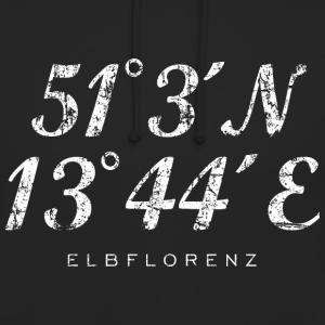 Elbflorenz Dresden Koordinaten Vintage Weiß