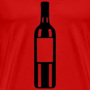 bouteille vin rouge 1109 Tee shirts - T-shirt Premium Homme