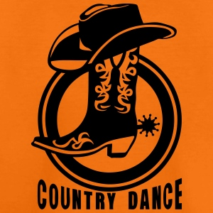 Cowboys country dance boot hat 3_lo Shirts - Teenage Premium T-Shirt
