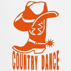 cowboys country dance botte chapeau 2 Tabliers - Tablier de cuisine