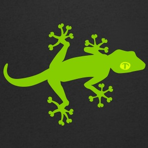 Gecko V neck T-shirt - Men's V-Neck T-Shirt