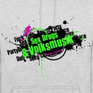 Sex Drugs & Volksmusik Party Hard Grunge Style - Unisex Hoodie