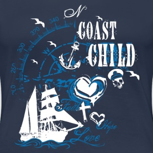 coast_child_10201501 T-Shirts - Frauen Premium T-Shirt