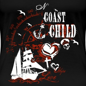 coast_child_10201503 T-Shirts - Frauen Premium T-Shirt