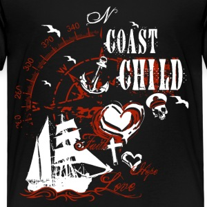 coast_child_10201503 T-Shirts - Kinder Premium T-Shirt