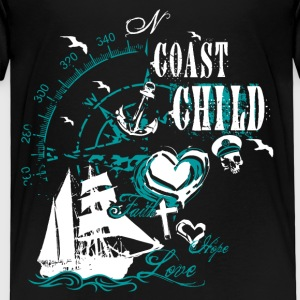 coast_child_10201502 T-Shirts - Kinder Premium T-Shirt