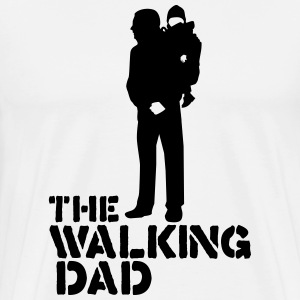 the walking dad Magliette - Maglietta Premium da uomo