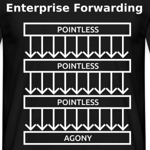 Enterprise Forwarding - Men's T-Shirt
