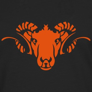 Aries Animal head horn 70923 Long sleeve shirts - Men's Premium Longsleeve Shirt